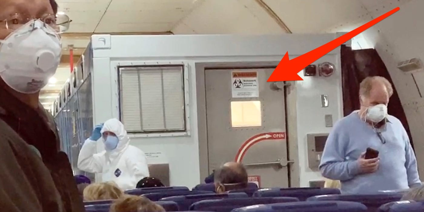 Эвакуация граждан США. Изоляционная камера.